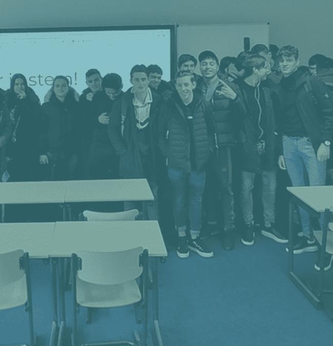 Studenten van Curio Knipplein in Roosendaal kunnen vanaf nu Sterk aan het werk!